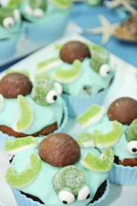 Turtle-Cupcakes